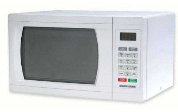 Black Decker With Grill Mz2300pg B5 23 Liter Microwave Oven White