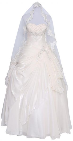 Noor Pleatrose Special Occasion And Wedding Dress For Women 38 Eu