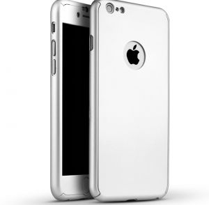 360 Degree Full Body Protection Case Silver For iPhone 6/6S