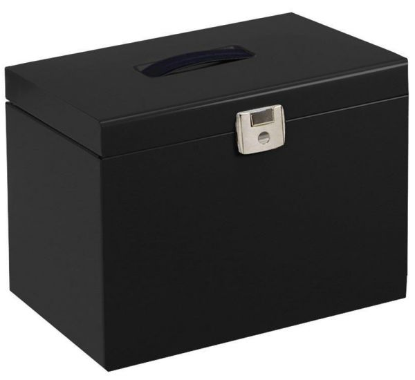 office file box. Pierre Henry Metal File Box With 5 Suspension Files Tabs - 40155 Office