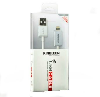 kingleen USB cable for IPhone with light Price in Saudi
