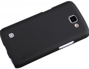 LG K4 Super Frosted Shield with LCD Protector [Black Color]