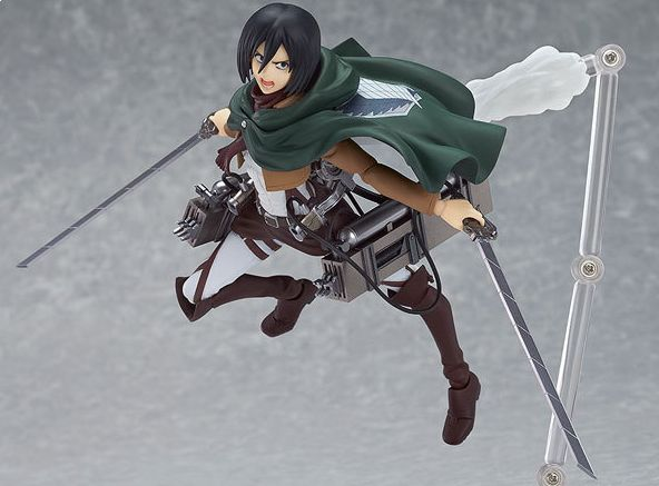 Attack On Titan Mikasa Ackerman Action Figure Multiple Sculpt Model Sb0007