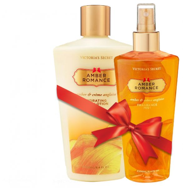 507915de5b Victorias Secret Amber Romance Body Lotion and Body Mist Combo Set ...