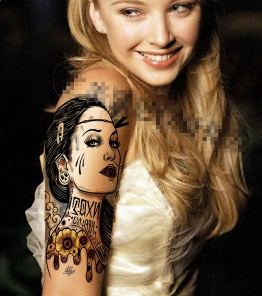 Image result for Waterproof Temporary Tattoo Sticker