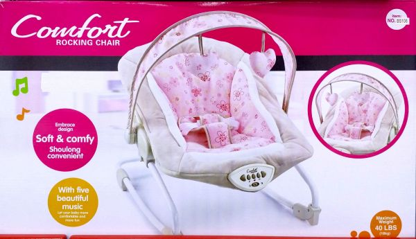 Comfort Baby Rocking Chair Set With Five Beautiful Music Design Ideas