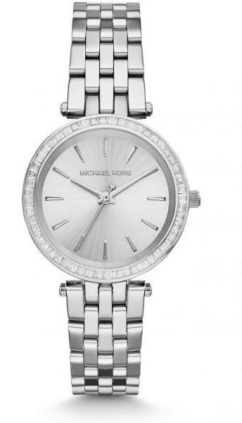 29d676da4edb Michael Kors Petite Darci Watch for Women - Analog Stainless Steel Band -  MK3364