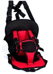 b13652bfc89 Portable Multi-Function Baby Car Safety Seat chair- Red