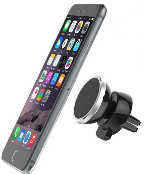 9d5a1574a90 Universal 360 Rotating Magnetic Car Air Vent Mount Mobile Phone ...