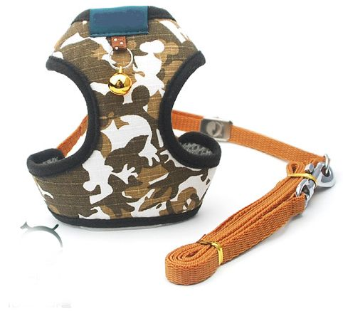 Stylish camouflage style Dog Harness / Pet Harness For Dog -army  camouflage,size S
