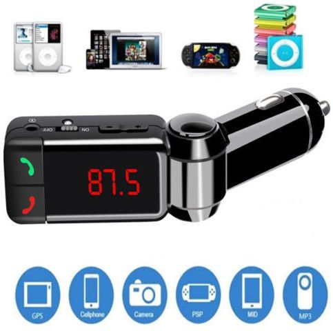 LCD Wireless Bluetooth Car Kit MP3 Player FM Transmitter Modulator USB SD MMC/DPL/