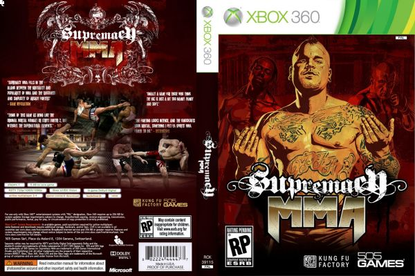 360 Supremacy MMA-Pal Region Xbox 360 by 505 Games | KSA | Souq