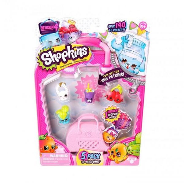 Shopkins Season 4 56079 5 Pack
