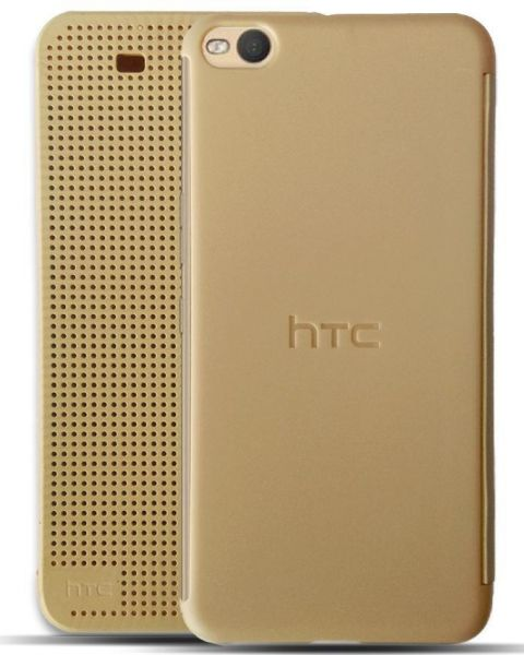 outlet store 560e0 b6d33 Dot View Cover for HTC One X9 - Gold Price in Egypt | Souq | Mobile ...