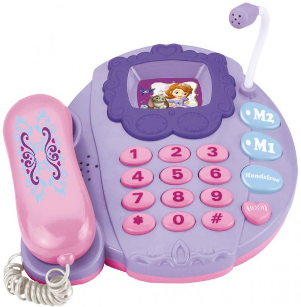 Disney Princess Toy Shock Sofia The First Musical Phone 1131   Toys ...