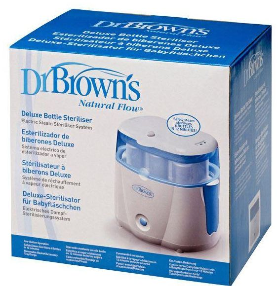 Dr Brown S Deluxe Electric Bottle Steam Sterilizer System
