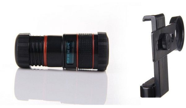 Universal 12x Optical Zoom Lens Kit Fits Iphone Samsung Htc