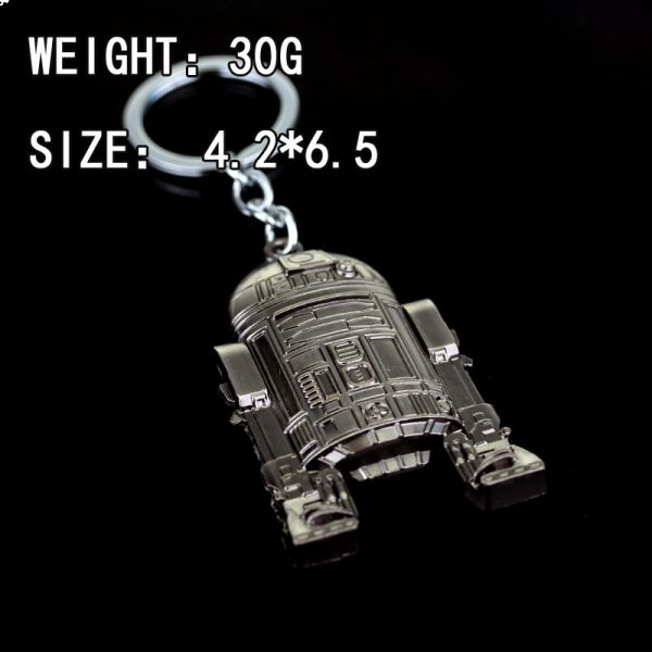 Star Wars key chain robot key pendant SDP0041