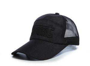 Men Sun Breathable Mesh Hat Outdoor Sunshade Sport Leisure Baseball Cap -  Black fa57e117073b