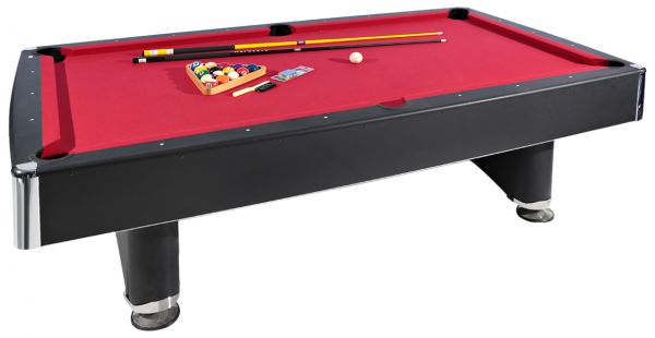 Souq TA Sports Billiard Table And Accessorie BrownRed - Accuslate pool table