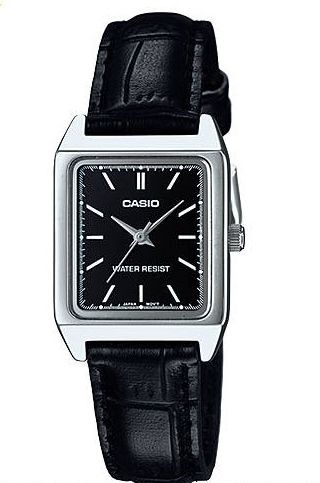 f947d37ab Casio Casual Watch For Men Analog Leather - MTP-V007L-1EUDF Price in ...