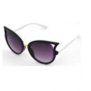 68a32a6b08 Fashion double color Cat Eyes Sunglasses for kids G908-2