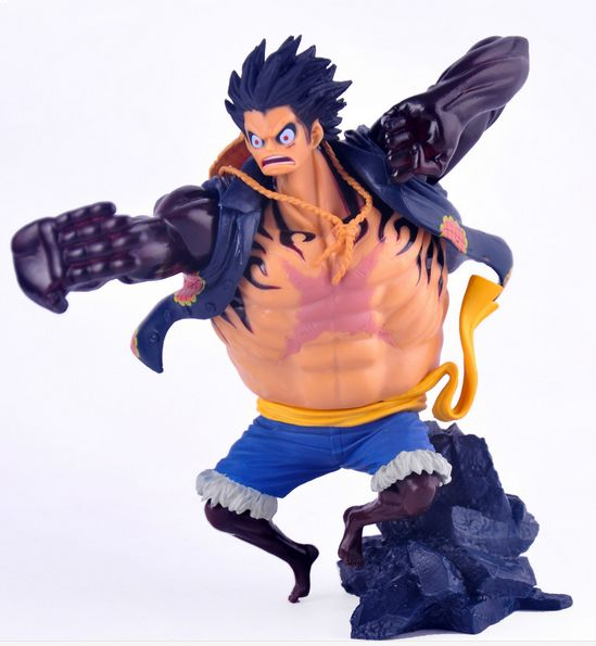 Anime One Piece Monkey D Luffy Gear Fourth Luffy Model Figure Sb0140