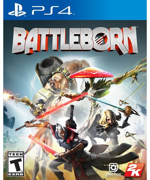 Battleborn by 2K Games, 2016 - PlayStation 4