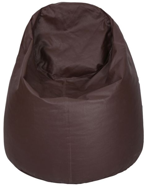 Leather Fabric Styrofoam Pellet Filling Bean Bag Brown  sc 1 st  Souq.com & Souq | Leather Fabric Styrofoam Pellet Filling Bean Bag Brown | UAE