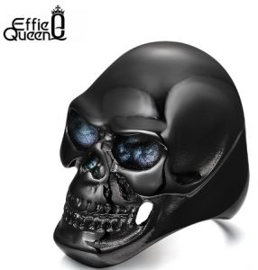 Ring in the form of a skull Mens Titanium (Size 8) NO.WTR92 babe45f59