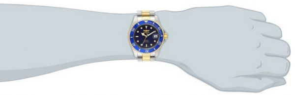 c84c72336 Invicta 8928OB Pro Diver 23k Gold Plated and Stainless Steel Two Tone  Automatic Watch for Men
