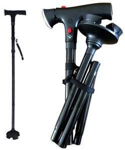 Ultimate Magic Cane Folding Walking Stick Height