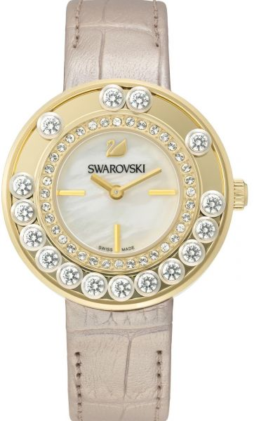 cade9ab8f Swarovski Dress Watch For Women Analog Leather - 5027203 | KSA | Souq