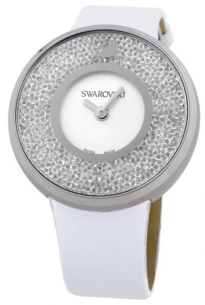 69cdf9625 Swarovski Dress Watch For Women Analog Leather - 1135989 | KSA | Souq