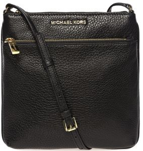high fashion thoughts on offer discounts Michael Kors 32S5GRLC1L-001 Riley Crossbody Bag for Women - Leather, Black
