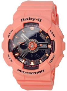 Casio Baby-G Women s Ana-Digi Dial Resin Band Watch - BA-111-4A2DR 9da63df22b2
