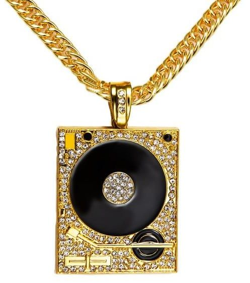 Souq europe fashion 18k gold plated hip hop mens punk style dj europe fashion 18k gold plated hip hop mens punk style dj phonograph pendant necklace men rock rap cuban chain necklace aloadofball Gallery