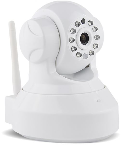 WHite Wireless WIFI Pan Tilt 720P Security Surveillance IP Camera Detection  Night Vision Web MT