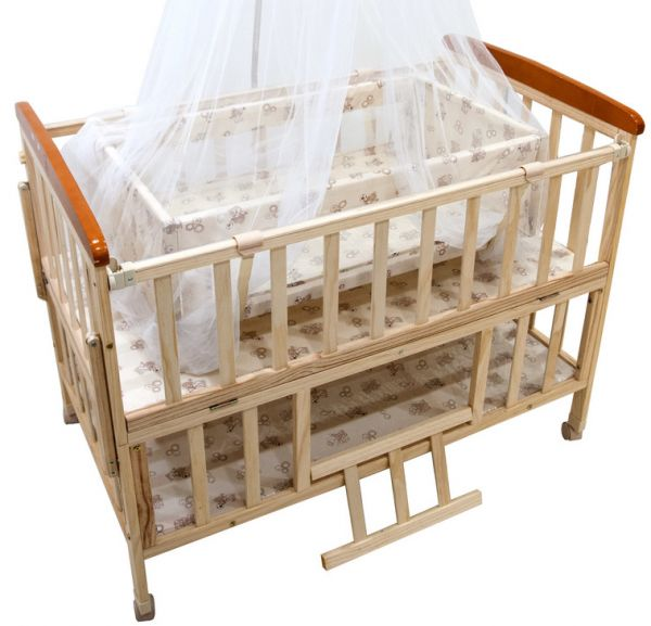 L 39 elefante baby bed with wheels bige best price in saudi for Baby bed with wheels