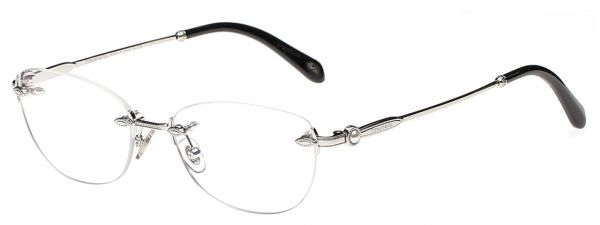 b6241c32400a Tiffany   Co Oval Rimless Frames for Women - Silver