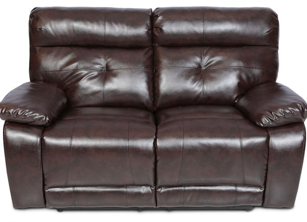 Danube Home Contemporary Pu Leather Dimas 2 Seater Recliner Sofa