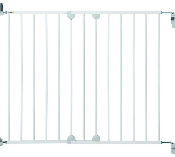 Souq Safety 1st 24384310 Wall Fix Extending Metal Door Gate White