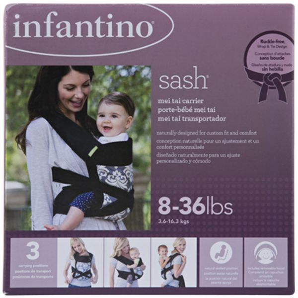 2fdc179be8d Infantino NB913779 Sash Mei Tai Carrier