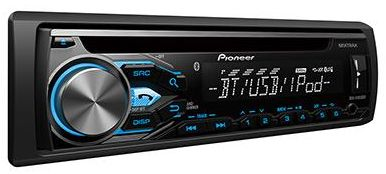 Audio receiver with MIXTRAX, Built-in Bluetooth, USB Direct Control for iPod/ iPhone and Certain Android Phones