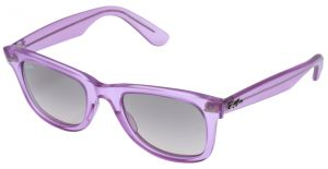 6c8bb72ac2 Ray Ban Square Matte Purple Unisex Sunglasses - RB 2140 6056 32-50-22-100 mm
