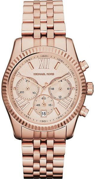94bc6ae5cb5 Michael Kors Lexington Watch for Women - Analog Stainless Steel Band ...