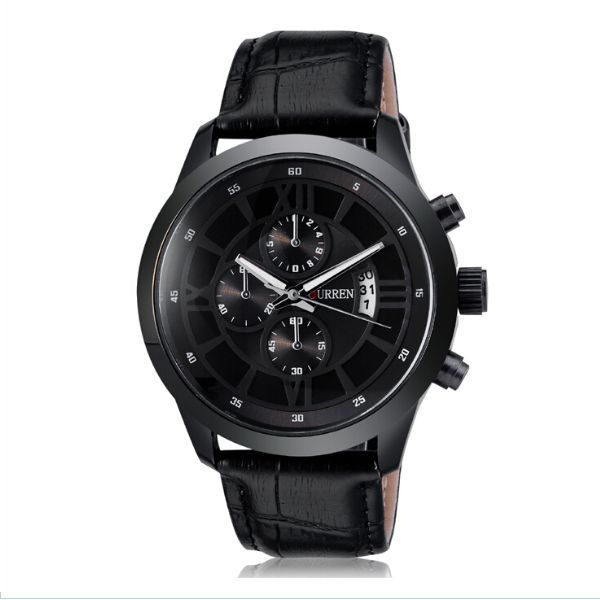 Curren for unisex analog leather band watch 8137 souq uae for Curren watches