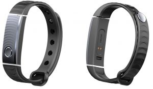 Tecno T-Band Fitness Tracker - Black Silver