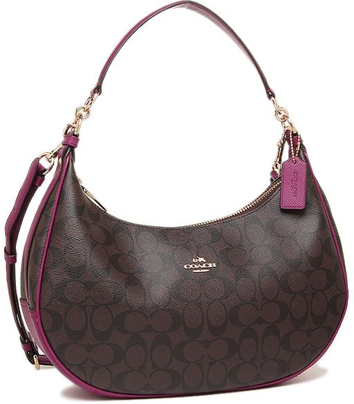51cae1f79c COACH F38267 HARLEY EAST/WEST HOBO IN SIGNATURE For Women IMITATION ...