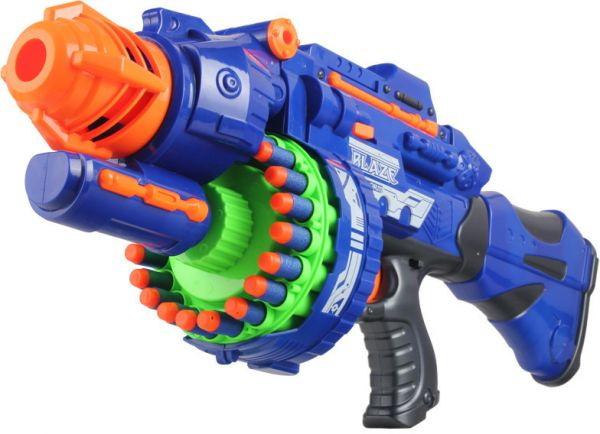 Electric Soft Bullet Toy Gun Model For Boy Toys Baby Accessories